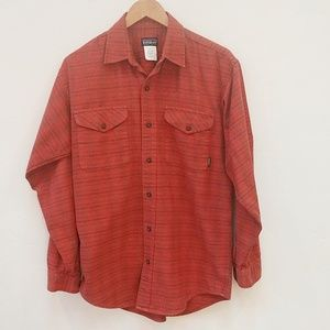 PATAGONIA LONG SLEEVE BUTTON DOWN FLANNEL - SMALL